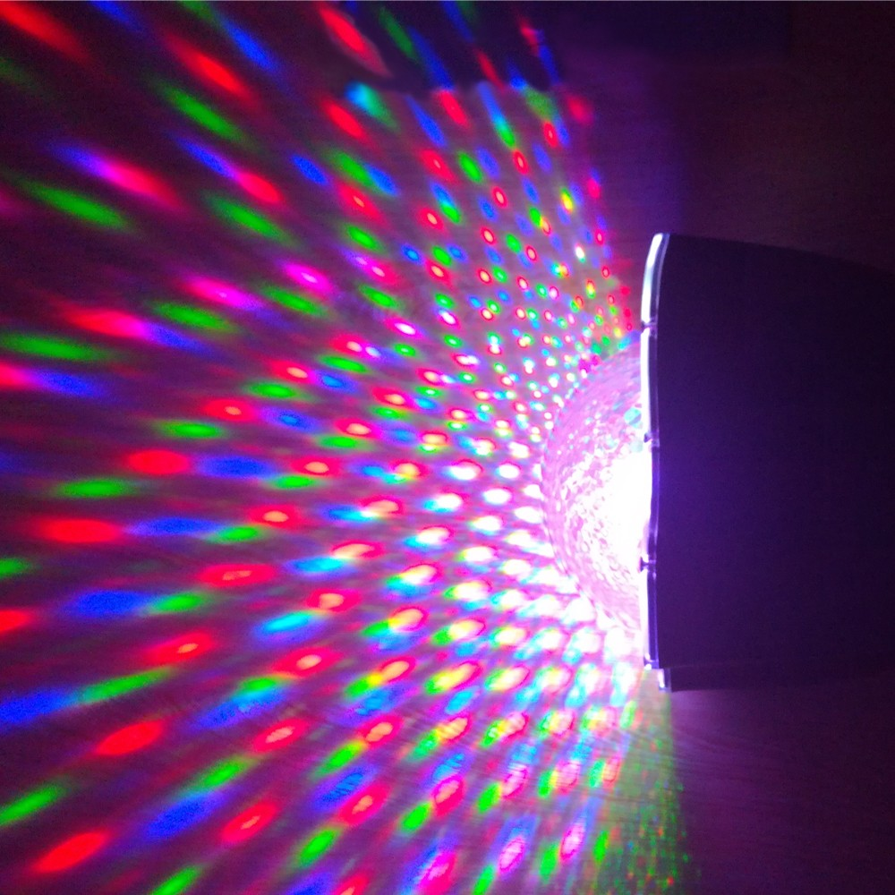 rgb disco ball light for outdoor