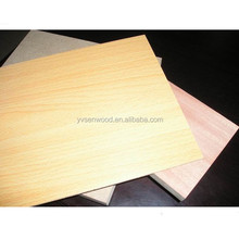 2mm 2.5mm double sides melamine MDF board for cabinet backboard