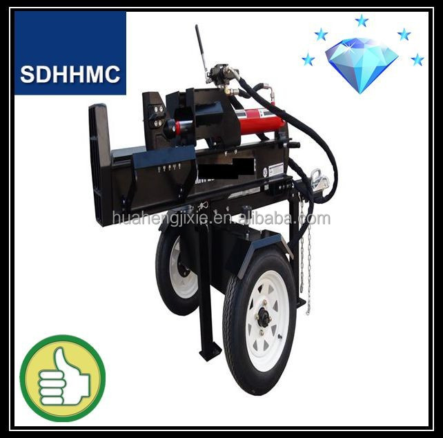 2014 China Hot Selling Factory Price 20Ton Gasoline Log Splitter,Firewood Log Processor