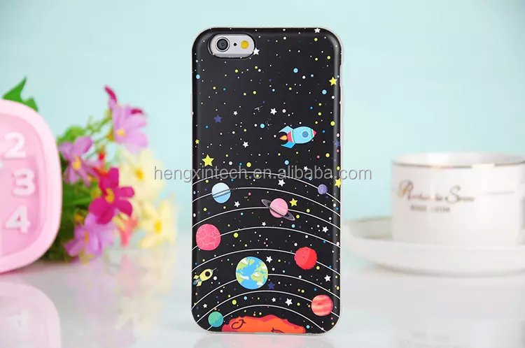 Luxury Starry Sky Glitter SLIM Soft TPU Phone Cover Case for iPhone6s/6splus/6/6plus