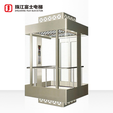 Fuji Factory Cheap manufacturer price sight seeing clear glass japan elevator