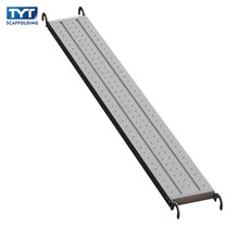 Galvanized steel scaffolding perforated steel plank