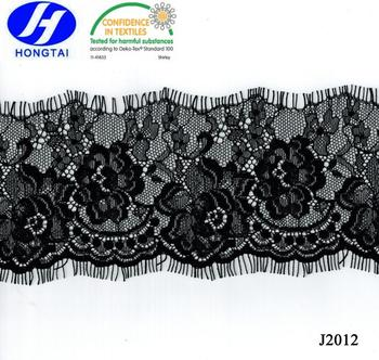 eyelash extension,dress fashion/net cording embroidered fabric lace from hongtai