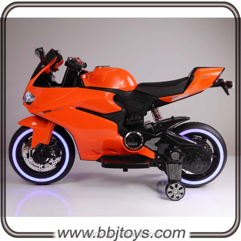 plastic toys electric ride on toy motorcycle for boys&girls