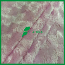 China factory wholesale SGS high quality velvet fabric for toilet seat cover