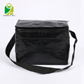 Outdoor fitness polyester insulated cooler bag for food