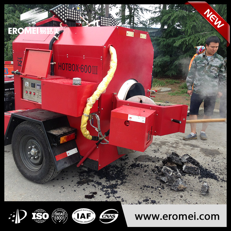 asphalt recycling maintenance truck