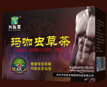Sex tea and energy tonic for men with natural herbs