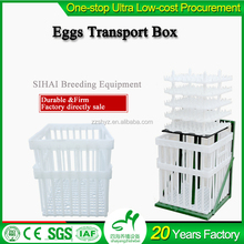 High quality cage for transport of chicken / broiler plastic transportation crate