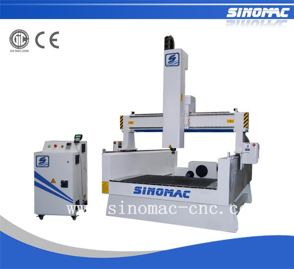 Sinomac CNC router S7-1318R panel mdf carved