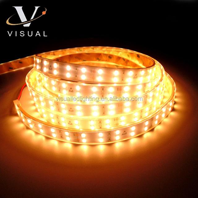 Jewelry LED strip light CRI >90 led SMD 5630 double row strip