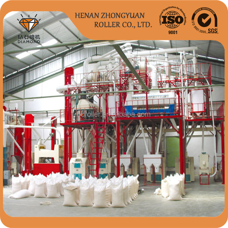 low price complete wheat flour milling plant with plansifter