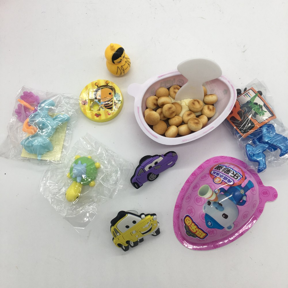 Factory Direct Supplier Custom Biscuit Surprise Chocolate Egg With Toys
