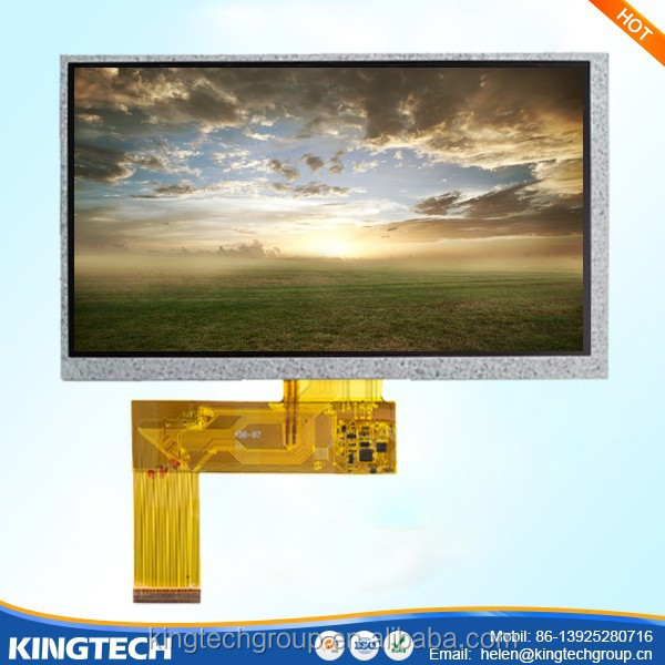 7 inches amoled display module 800*480