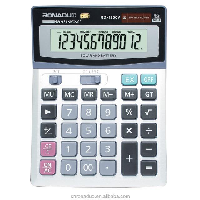 apple shape calculator 12 digits calculator 1200V solar calulator office calculator