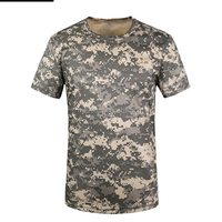 Outdoor Tactical T-shirt Breathable Men's army T-shirt