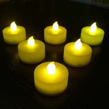 Mini Plastic Flameless Led Tea Light Candle