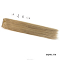 100% Virgin cuticle intact Russian Hair machine Weft Extension
