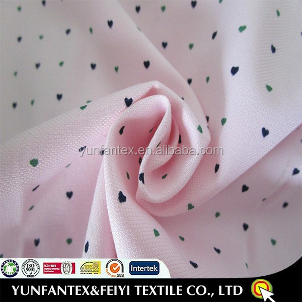 2018 cheapest 55/45 <strong>cotton</strong> and polyester shirt fabric in pink color