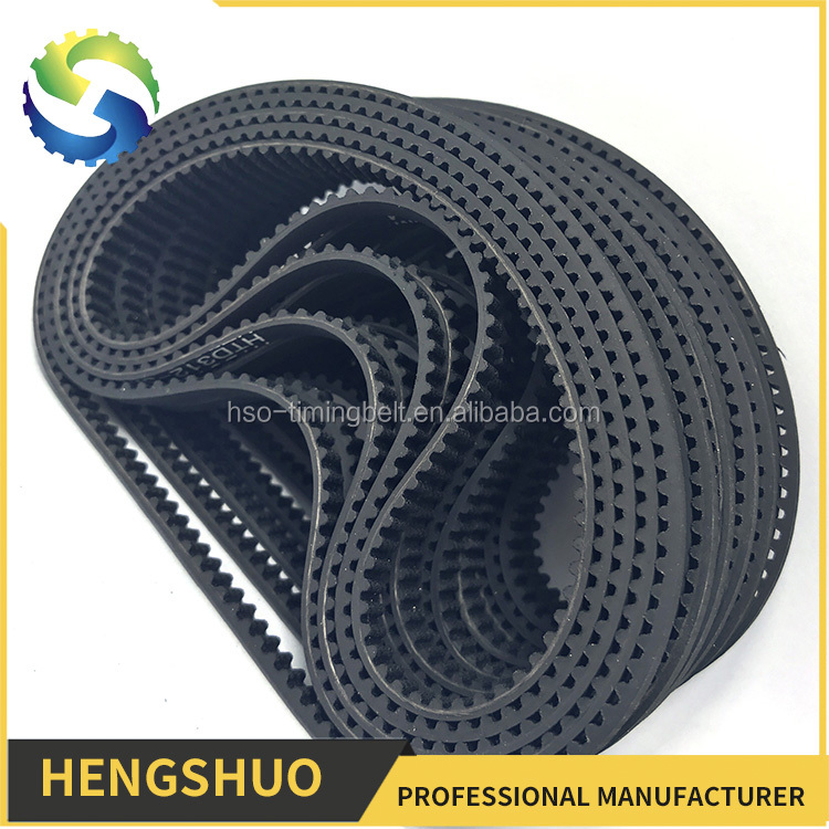 High-accuracy positioning non-slipping fabric reinforce industrial timing belt car rubber belt
