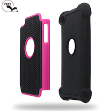 3 in 1 hybrid football case For iPhone Touch 4 Back Cover For iPod Touch 4