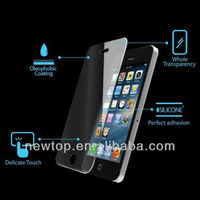 Tempered glass screen protector for iphone 5.ant-scratch with 9H hardness,0.5MM,welcome OEM/ODM Order!