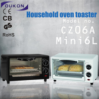 CZ06A Kitchen Small Appliance 6liters mini oven electric baking oven