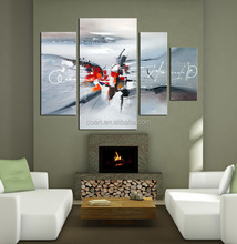 canvas contemporary wall painting designs