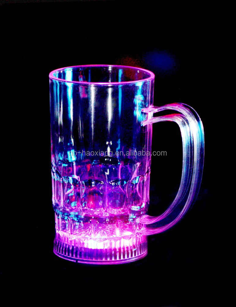 Disposable LED flashing cup,martini cup,red wine cup/party decoration/bar funny drinking cup