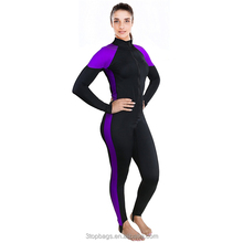Womens Wetsuit Lycra Full Body Diving Suit & Sports Skins for Running, Snorkel