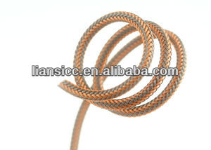High density plastic sleeves for cable/fishing rod