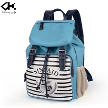 canvas bag 2015 China design school bags set pack backbag China supply for teenager