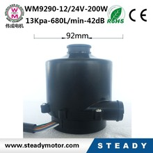 dc industrial air blower for supercharger hot air exhuasting centrifugal blower