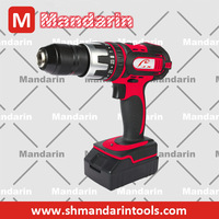 cordless drill driver 18V with 1300mAh Li-ion battery two speeds 750motor