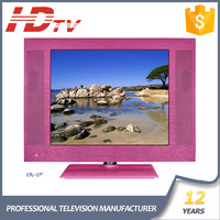 China Manufacturer 12V input 15-19inch Colorful LCD TV with LED Backlight