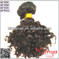 Qingdai hair manufacturer 2014 new creative unprocessed human virgin brazilian hair