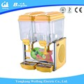 Spraying refrigerated automatic drink dispenser beverages