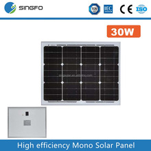 High quality A cell 18v 30w 40w 50w cheap solar power panel for sale