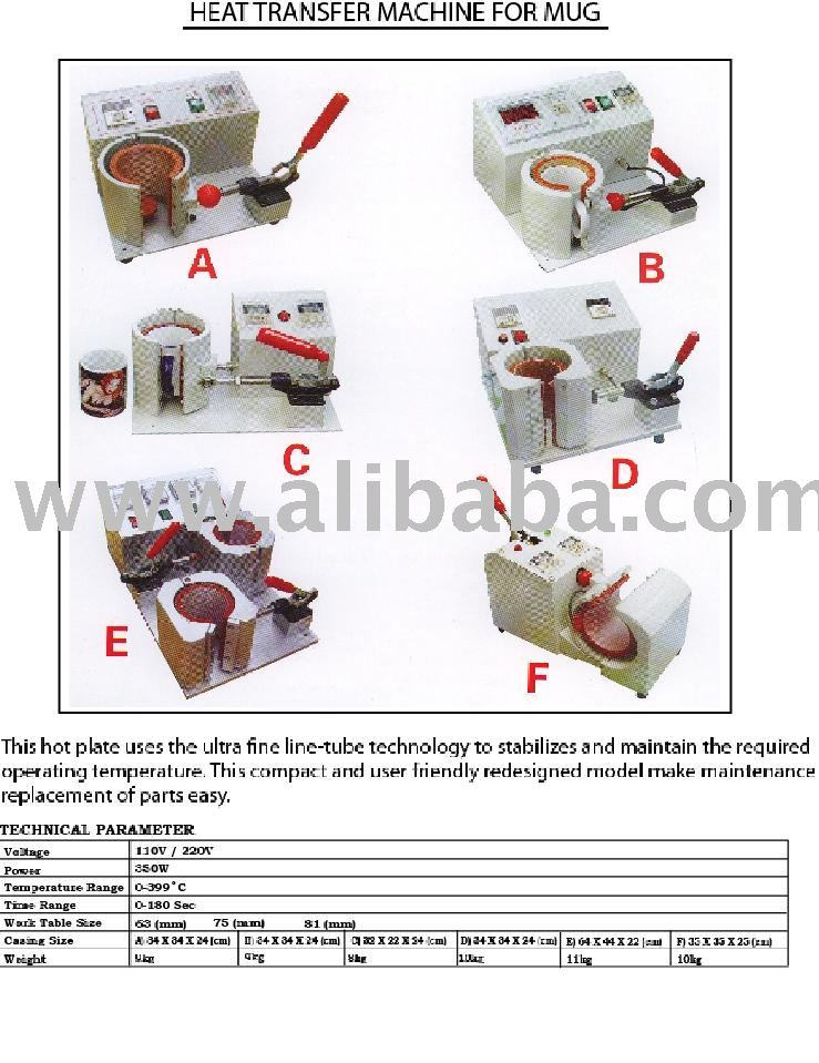 Heat Transfer Machine for Mug