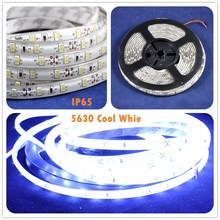 Professional Spray Silicon Waterproof Led Strip Bulk SMD5630 Supplier Led Tape Light