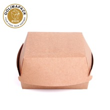 paper snack box,Burger Clamshell,burger box for fast food resta