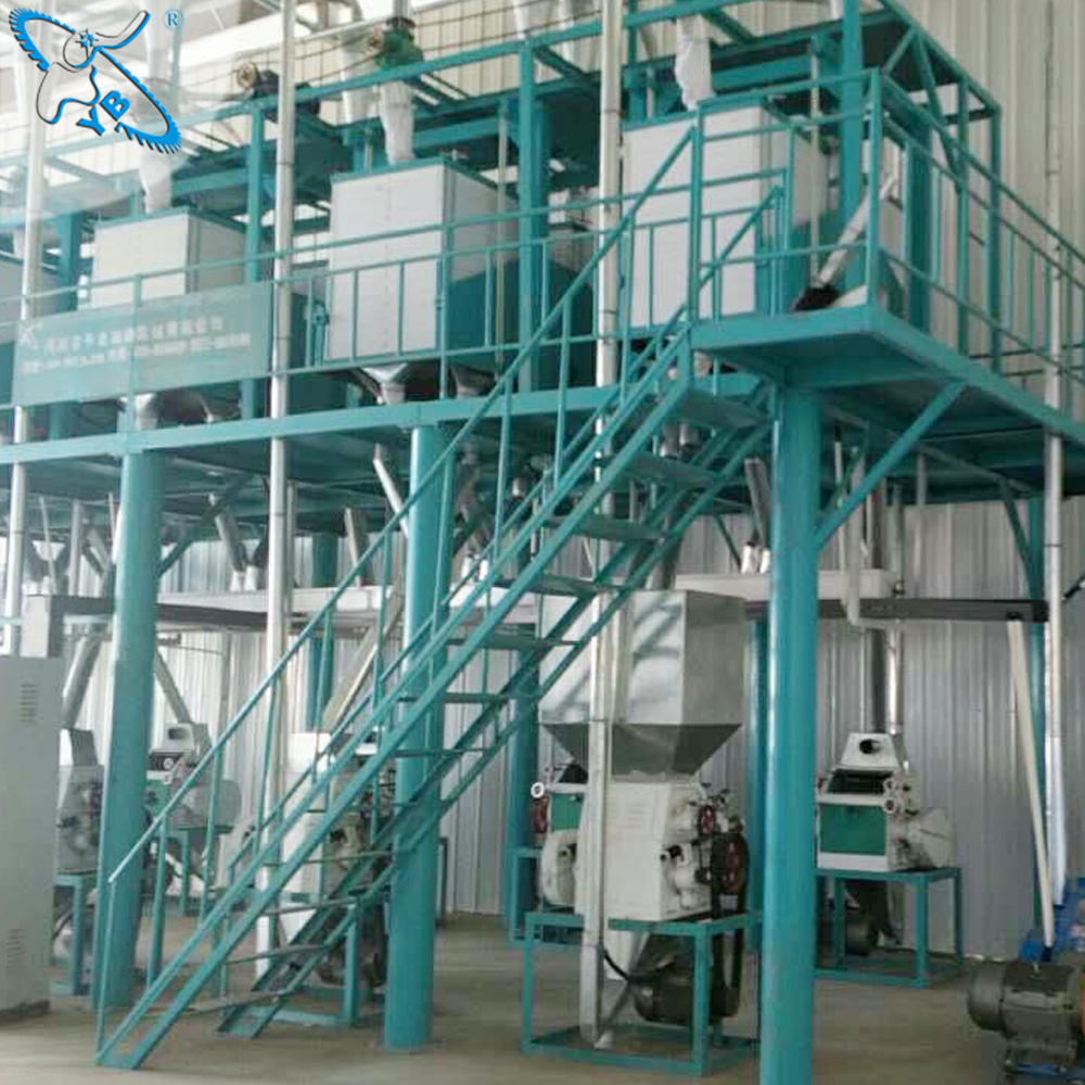 competitive price wheat milling machine to make flour