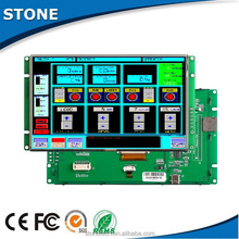 lcd display 7 inch control application with touch panel +TFT LCD +motherboard with CPU/driver
