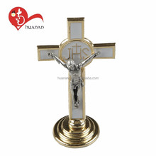 HNS001 Wholesale china costom european style metal standing cross