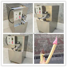 Hollow Corn Puff Snack Extruder/Ice Cream Cone Bulking Machine/Puffed Corn Stick Making Machine