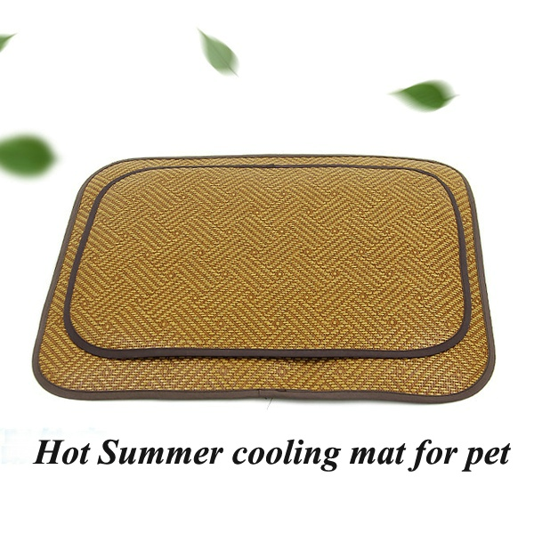 Wholesale low price MOQ indoor dog mat cat cooling pad pet seat bed