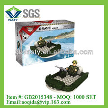 plastic hovercraft block wange building blocks