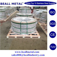 SS 304 316L 2B BA strips Bands_ AISI 304 316L STAINLESS STEEL strips Bands coils manufacturer