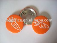 2012 Promotional gift Tin badge button