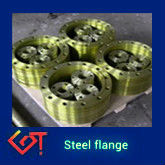 serrated face flange